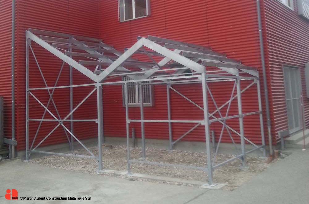 Structures martin aubert construction m tallique for Structure metallique architecture