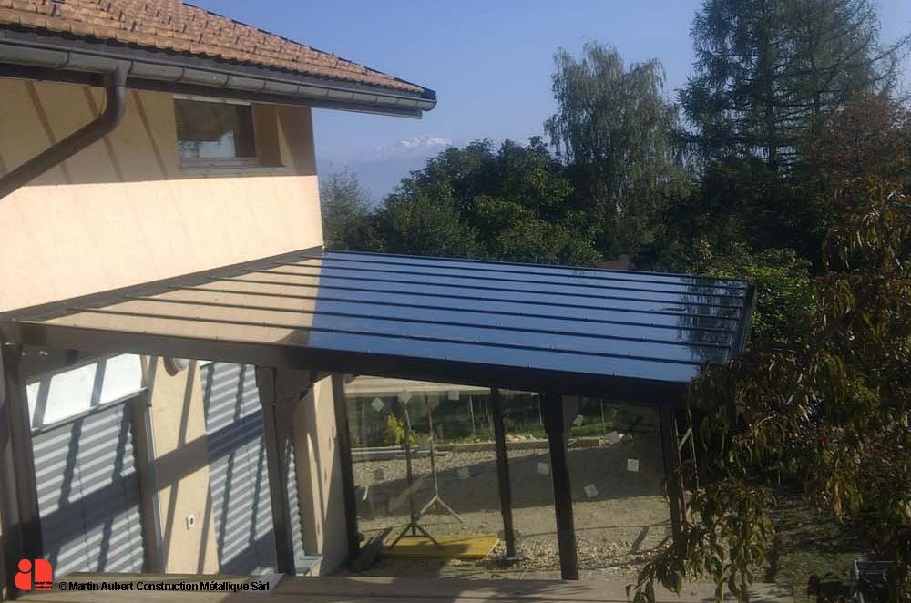 56 construction metallique structures c martin aubert for Structure metallique architecture